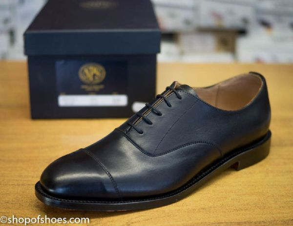 NPS English made Oxfords with leather goodyear welted leather sole and heel.